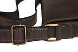 Сумка мужская вертикальная кожаная планшет SULLIVAN smvp118(30) коричневая, фото 7