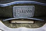 Сумка мужская вертикальная кожаная планшет SULLIVAN, фото 8