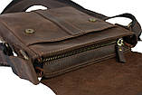 Сумка мужская вертикальная кожаная планшет SULLIVAN, фото 6