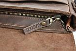 Сумка мужская вертикальная кожаная планшет SULLIVAN, фото 10