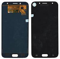 Дисплейный модуль (экран) для Samsung J730 J7 (2017) Чёрный LCD TFT, с регулировкой яркости