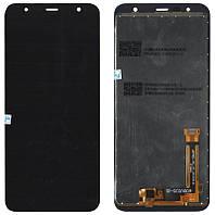 Дисплей + сенсор Samsung J610 J6+ 2018 Чёрный LCD OEM