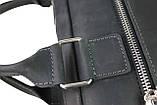 Сумка чоловіче для документів велика шкіряна А4 SULLIVAN smg7(40) чорна, фото 8