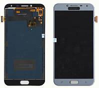 Дисплейный модуль (экран) для Samsung J400 J4 ( J2018) Серый LCD TFT