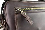 Сумка с ручкой мужская вертикальная кожаная планшет SULLIVAN, фото 8
