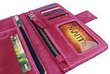Гаманець жіночий купюрник тревел-кейс travel портмоне картхолдер SULLIVAN, фото 4