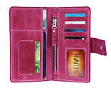 Гаманець жіночий купюрник тревел-кейс travel портмоне картхолдер SULLIVAN, фото 6