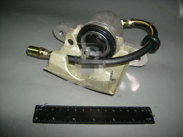 Скоба тормоза переднего ВАЗ 2110, 2111, 2112 правый /суппорт/ в сборе с цилиндр. (АвтоВАЗ). 21080-350101400