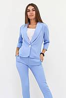S, M, L, XL / Вишуканий жіночий костюм Melage, блакитний