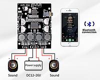 TPA3118 Усилитель Bluetooth 4.2 2x30W 9-26V черный, фото 1