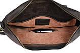 Сумка мужская для документов большая кожаная А4 SULLIVAN smg10(40) коричневая, фото 8