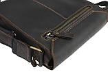 Сумка мужская вертикальная кожаная планшет SULLIVAN, фото 9