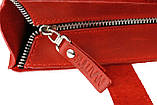 Сумка жіноча шкіряна велика шопер SULLIVAN sg4(40) червона, фото 8