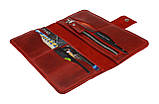 Кошелек женский кожаный большой SULLIVAN  kgb62(10) красный, фото 5