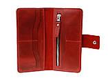 Кошелек женский кожаный большой SULLIVAN  kgb62(10) красный, фото 7