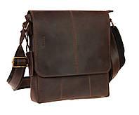Сумка мужская кожаная планшет SULLIVAN smvp115(40) коричневая, фото 1