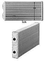 Радиатор печки  MAN F2000