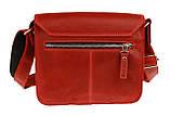 Сумка женская кожаная маленькая клатч  SULLIVAN sg7(25) красная, фото 2
