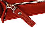 Сумка женская кожаная маленькая клатч  SULLIVAN sg7(25) красная, фото 6