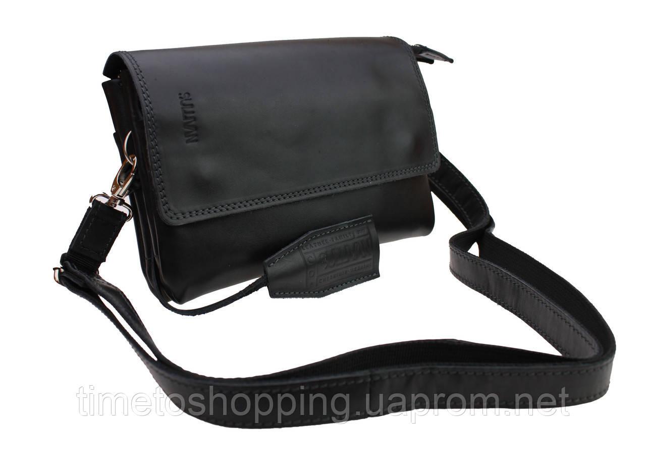 Сумка женская маленькая барсетка клатч SULLIVAN sg16(32) черная