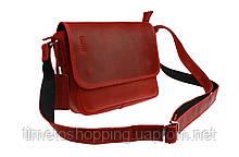 Сумка женская кожаная маленькая клатч  SULLIVAN sg26(23) красная