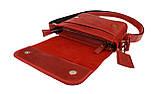Сумка жіноча шкіряна маленька клатч SULLIVAN sg26(23) червона, фото 2