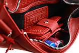 Сумка жіноча шкіряна маленька клатч SULLIVAN sg26(23) червона, фото 8