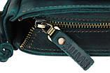 Сумка женская кожаная маленькая клатч  SULLIVAN sg27(23) зеленая, фото 7