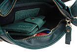 Сумка женская кожаная маленькая клатч  SULLIVAN sg27(23) зеленая, фото 8