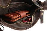 Сумка женская кожаная маленькая клатч  SULLIVAN sg29(23) коричневая, фото 8
