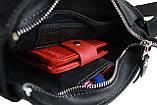 Сумка женская кожаная маленькая клатч  SULLIVAN sg30(23) черная, фото 8