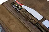 Кошелек женский кожаный большой SULLIVAN  kgb64(10) оливковый, фото 8
