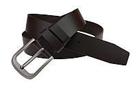 Ремень мужской кожаный джинсовый SULLIVAN  RMK-2(7) 115-150 см коричневый