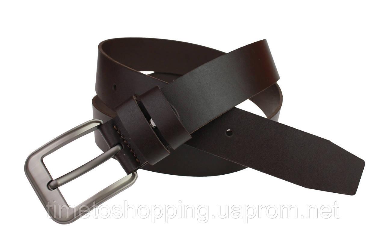 Ремень мужской кожаный джинсовый SULLIVAN  RMK-3(7) 115-150 см коричневый