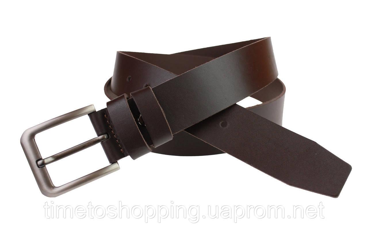 Ремень мужской кожаный джинсовый SULLIVAN  RMK-6(7) 115-150 см коричневый
