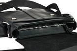 Сумка мужская кожаная планшет натуральная кожа SULLIVAN smvp72-2(25) черная, фото 6