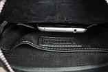 Сумка мужская кожаная планшет натуральная кожа SULLIVAN smvp72-2(25) черная, фото 8