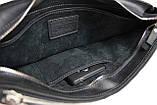 Сумка мужская для документов большая кожаная А4 SULLIVAN smg17(47) черная, фото 8