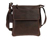 Сумка мужская  кожаная планшет SULLIVAN smvp123(25) коричневая, фото 1