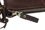 Сумка мужская  кожаная планшет SULLIVAN smvp123(25) коричневая, фото 5