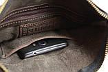 Сумка мужская  кожаная планшет SULLIVAN smvp123(25) коричневая, фото 8