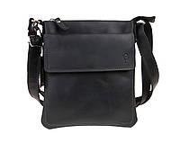 Сумка мужская  кожаная планшет SULLIVAN smvp124(25) черная, фото 1