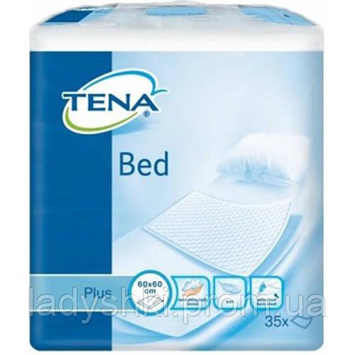 Одноразовые пеленки Tena Bed Plus 60 90 (35 шт) тена, цена 291 грн ... 9eb625757e0