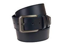 Ремень мужской кожаный джинсовый одна строчка SULLIVAN  RMK-73(7.5) 115-150 см синий