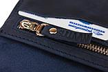 Кошелек женский кожаный большой SULLIVAN  kgb72(10) синий, фото 7