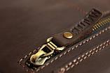 Сумка чоловіча вертикальна шкіряна планшет SULLIVAN smvp126(30) коричнева, фото 6