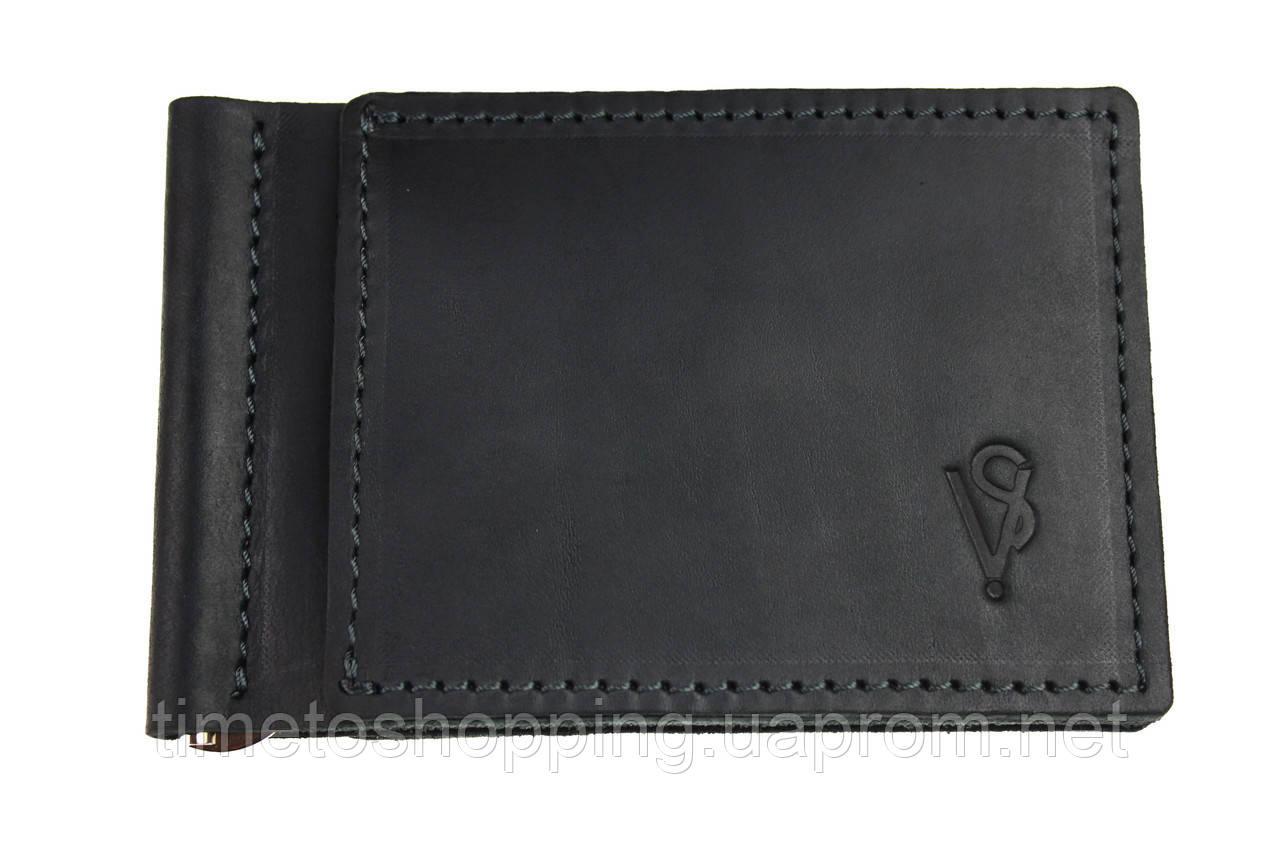 Кошелек мужской кожаный зажим для купюр SULLIVAN kmzdk10(4) черный