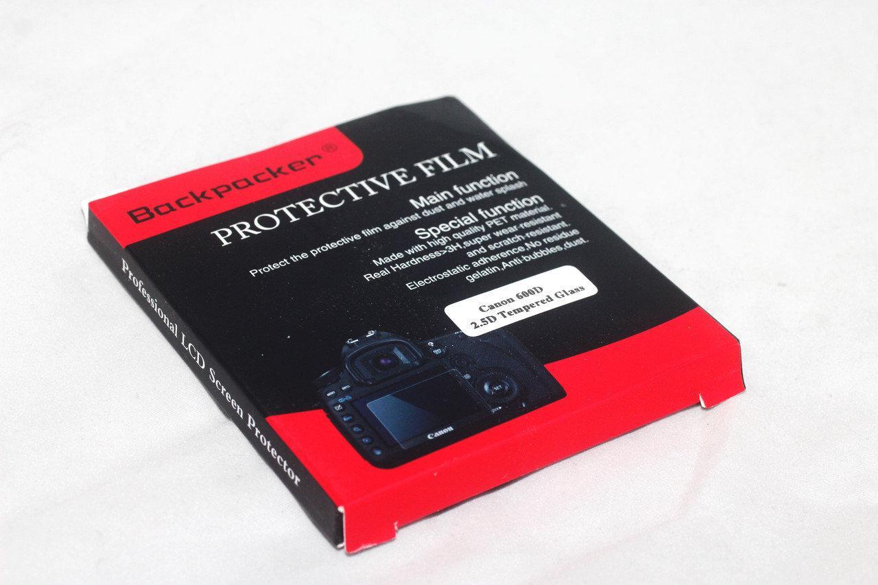 Защитное стекло Backpacker для LCD экрана фотоаппаратов Canon 550D, 600D (KISS X5), 60D, IXY650  ( на складе )