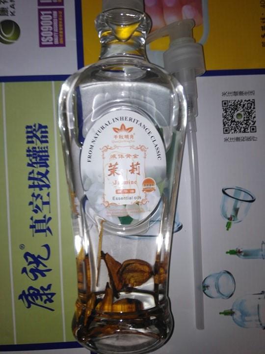Масло масажне жасмін Масло массажное жасмин 600мл з дозатором спа