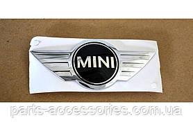 Mini Cooper задній значок емблема на кришку багажника нова оригінал